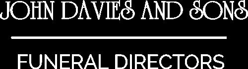 white jon davies logo